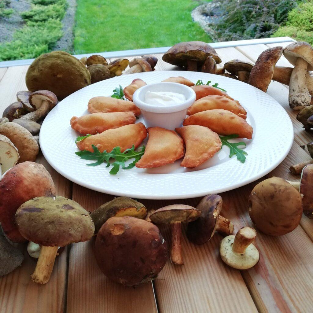 Soodi Pierogarnia oferuje jesienne, sezonowe pierogi z grzybami